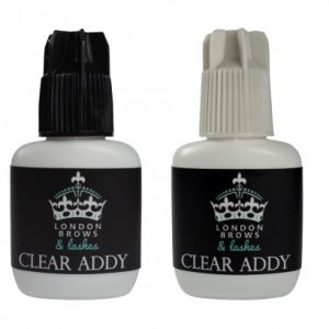 London BrowsHigh & Low HumidityLash Adhesive Clear Addy (2 pack)